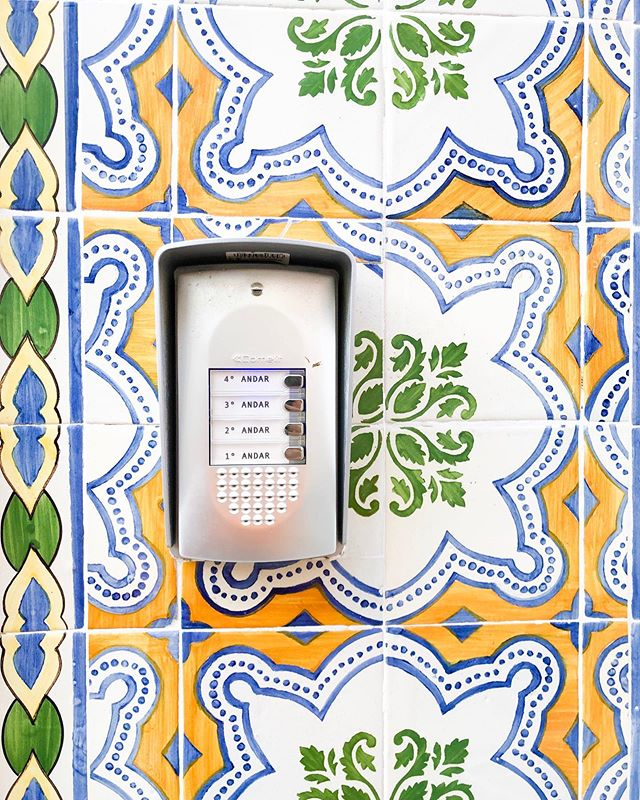 Jet lagging my way through this week.  Wishing I was back in the land of color and beautiful tile. #jetsetxlisbon  Anyone else want to travel 24/7 365? IT ME 🤷🏻♀️