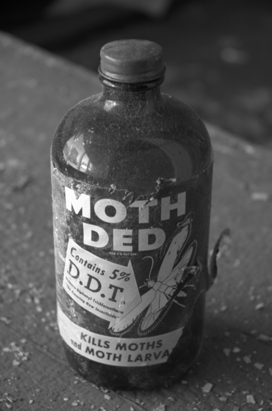 Moth Pesticide Containing DDT - Photo courtesy of tehlemmingrebel - Flickr