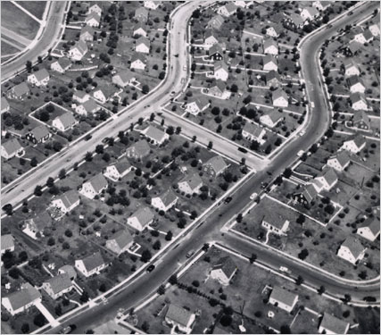 Levittown, NY in the 1950s