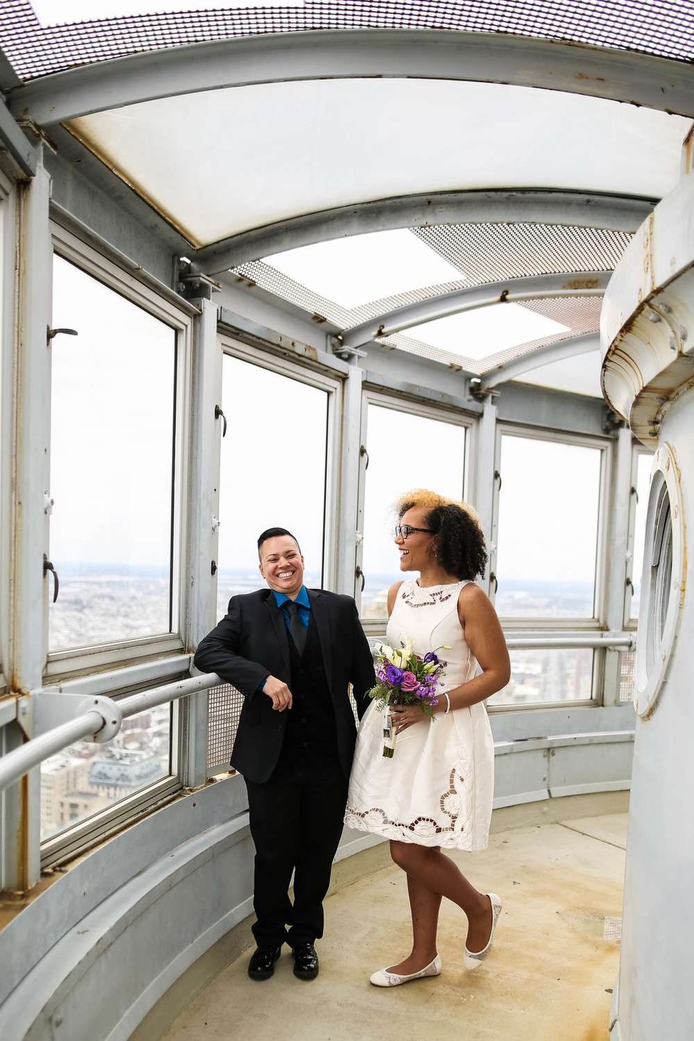Philadelphia lesbian City Hall wedding