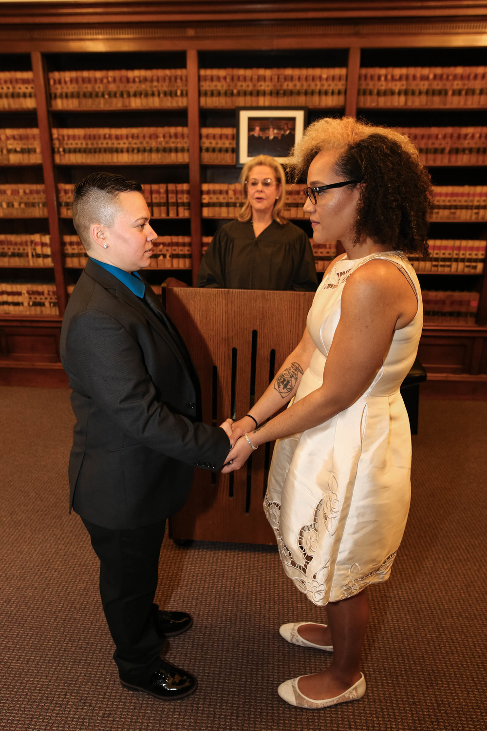 Philadelphia Lesbian Wedding at City Hall