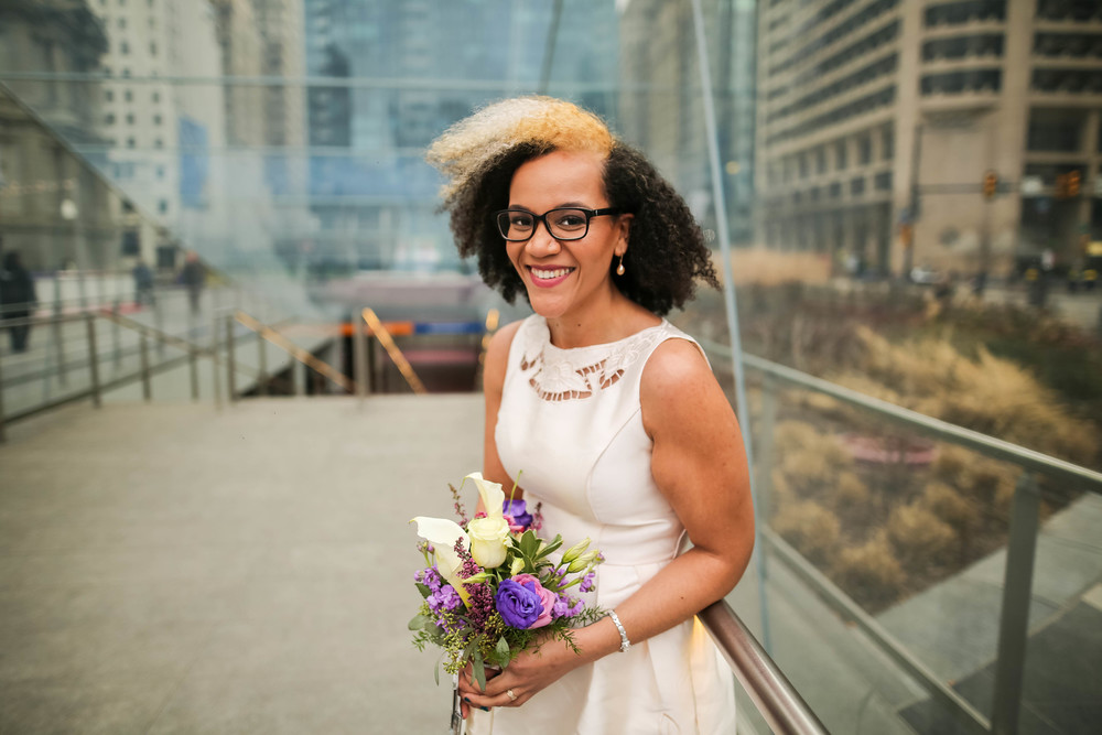 Sophia and Lisa - A Philadelphia City Hall Lesbian Elopement by Swiger Photography, Philly's Lesbian Photographer