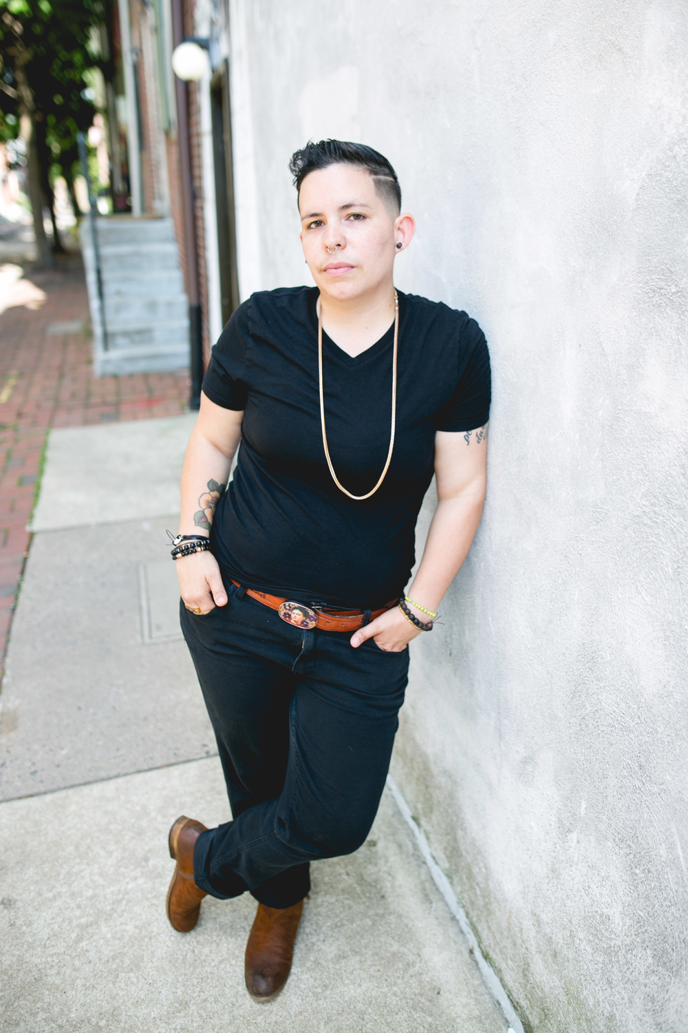 Philadelphia Weekly Forward Philly Headshots by LGBTQ photographer, Queer DJ Nikki Lopez