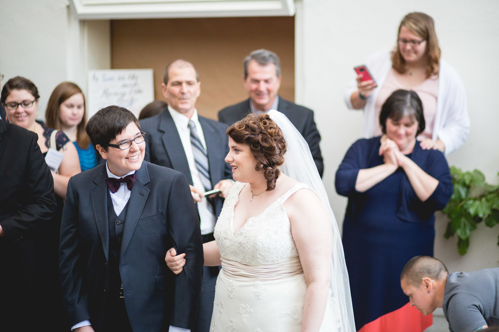 Who Should Walk You Down The Aisle?  A Swiger Photography Wedding Wednesday Series.  Philadelphia Lesbian Photographer.