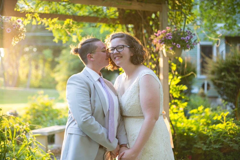 Alex and Lee - A Queer Walnutport PA Wedding, Philadelphia LGBTQ Wedding Photographer