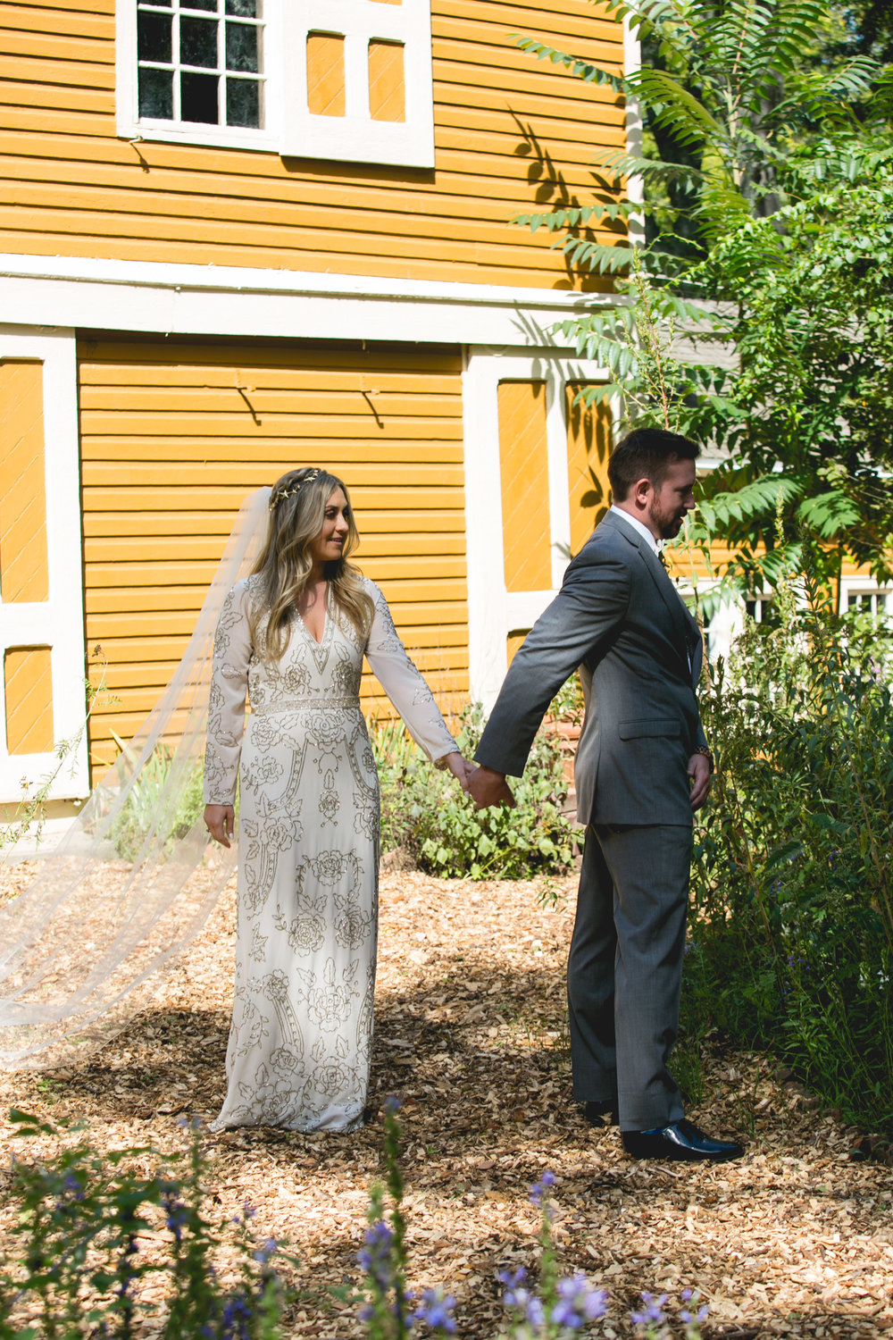 A Historic Waterloo Village Vintage Chic Wedding by Swiger Photography, featuring fall colors, vibrant details and beautiful authentic love. Shot by owner Amanda Swiger, national known lesbian photographer.