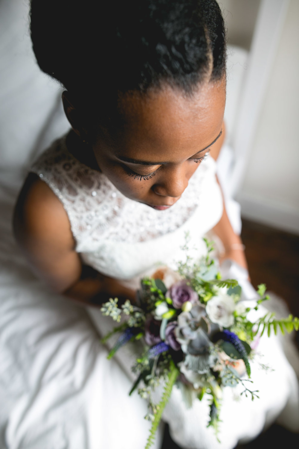 A Philadelphia Fishtown Skybox Wedding by Lesbian Photographer Swiger Photographer.  Monet and Daniel - an industrial fall Philly Wedding