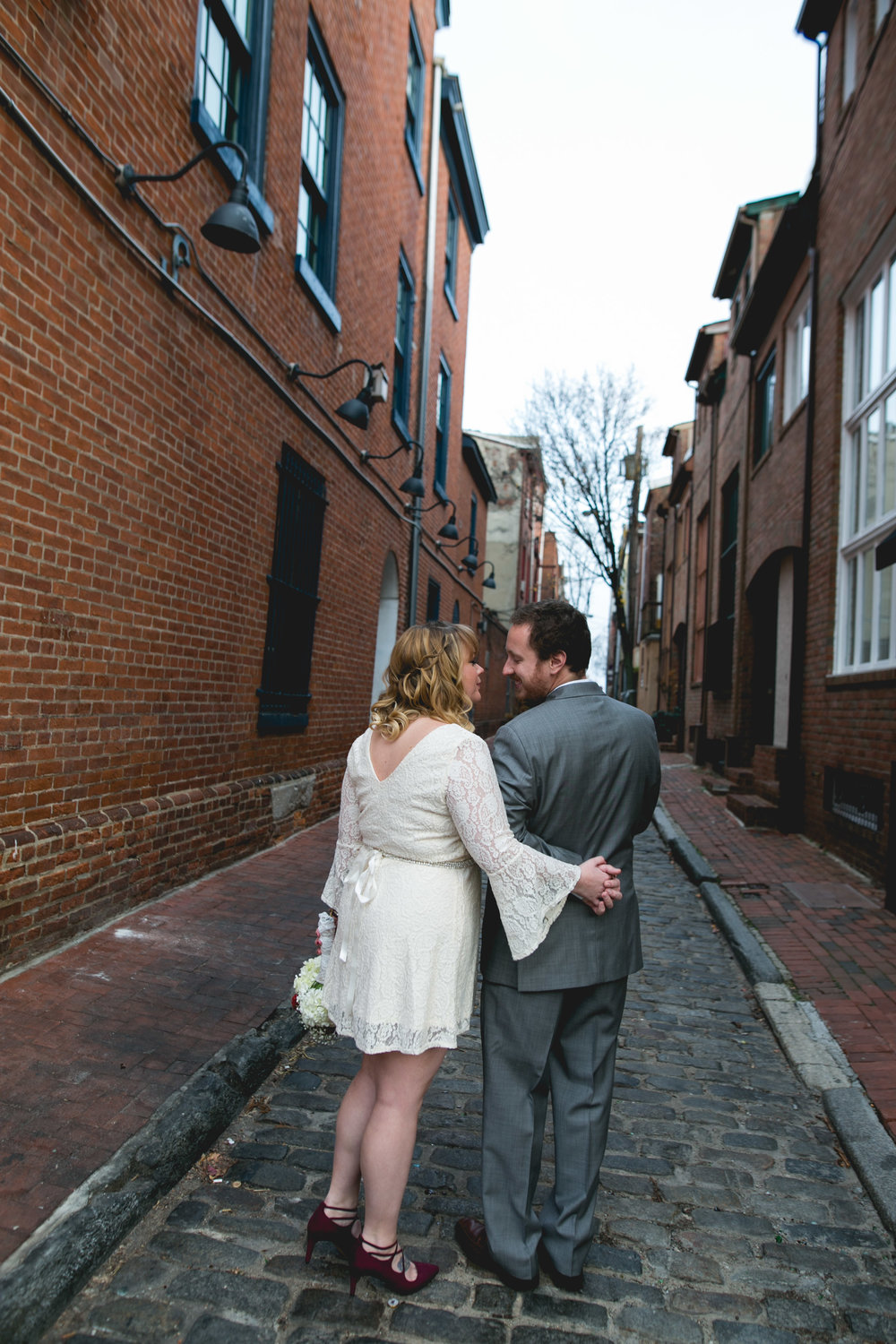Philadelphia Christmas Wedding at Bistro Romano
