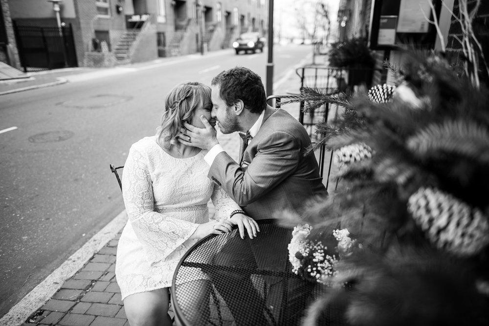 Philadelphia Winter Wedding in Old City