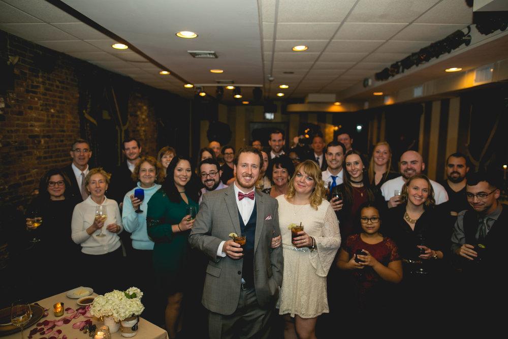 Intimate Bistro Romano Philadelphia Wedding