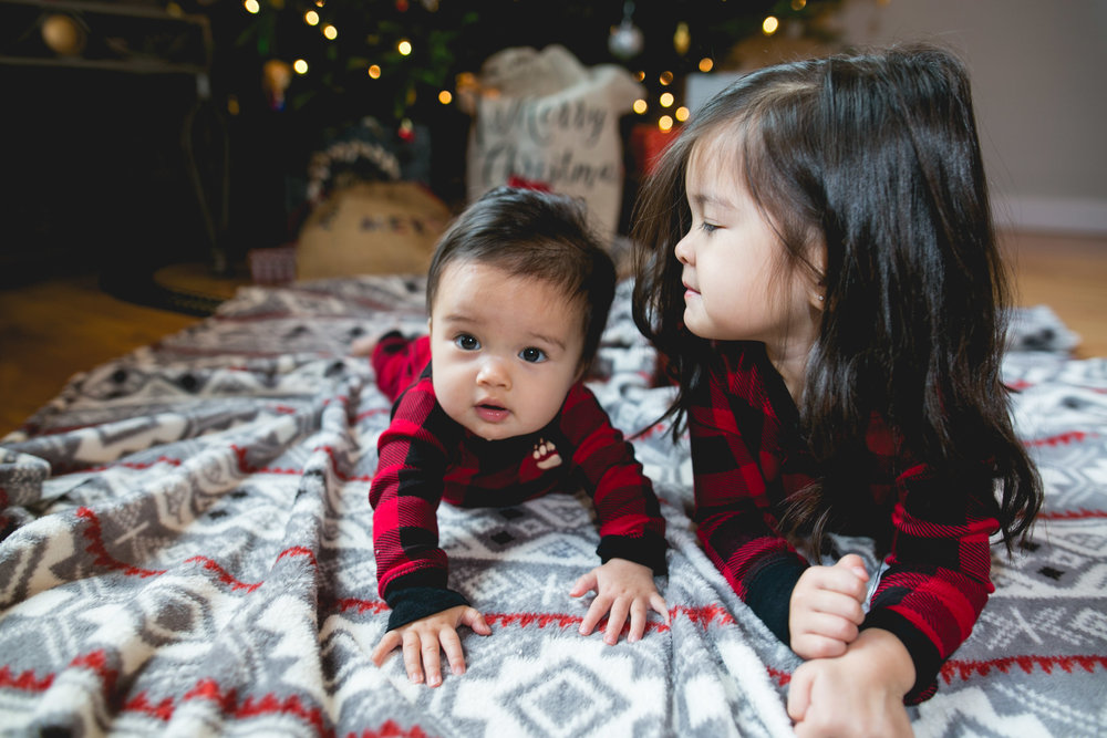 In Home Christmas Family Session by Swiger Photography