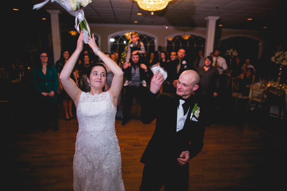 A New Jersey Winter Wedding at The Bradford Estate