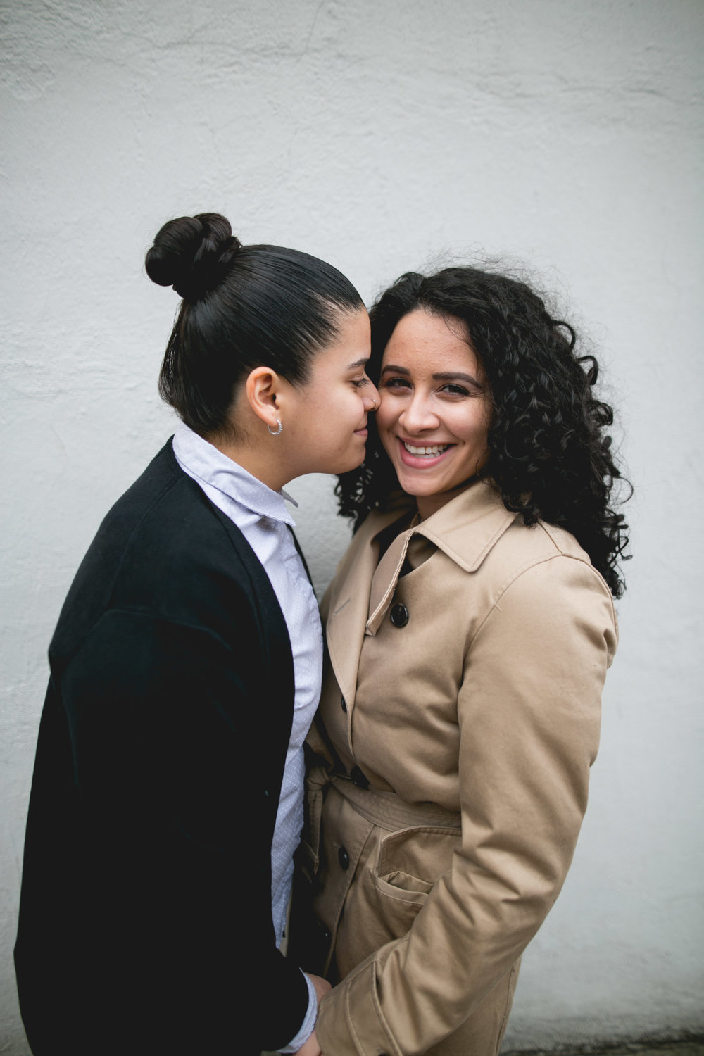 Philadelphia Lesbian Engagement Session Crystal and Marissa