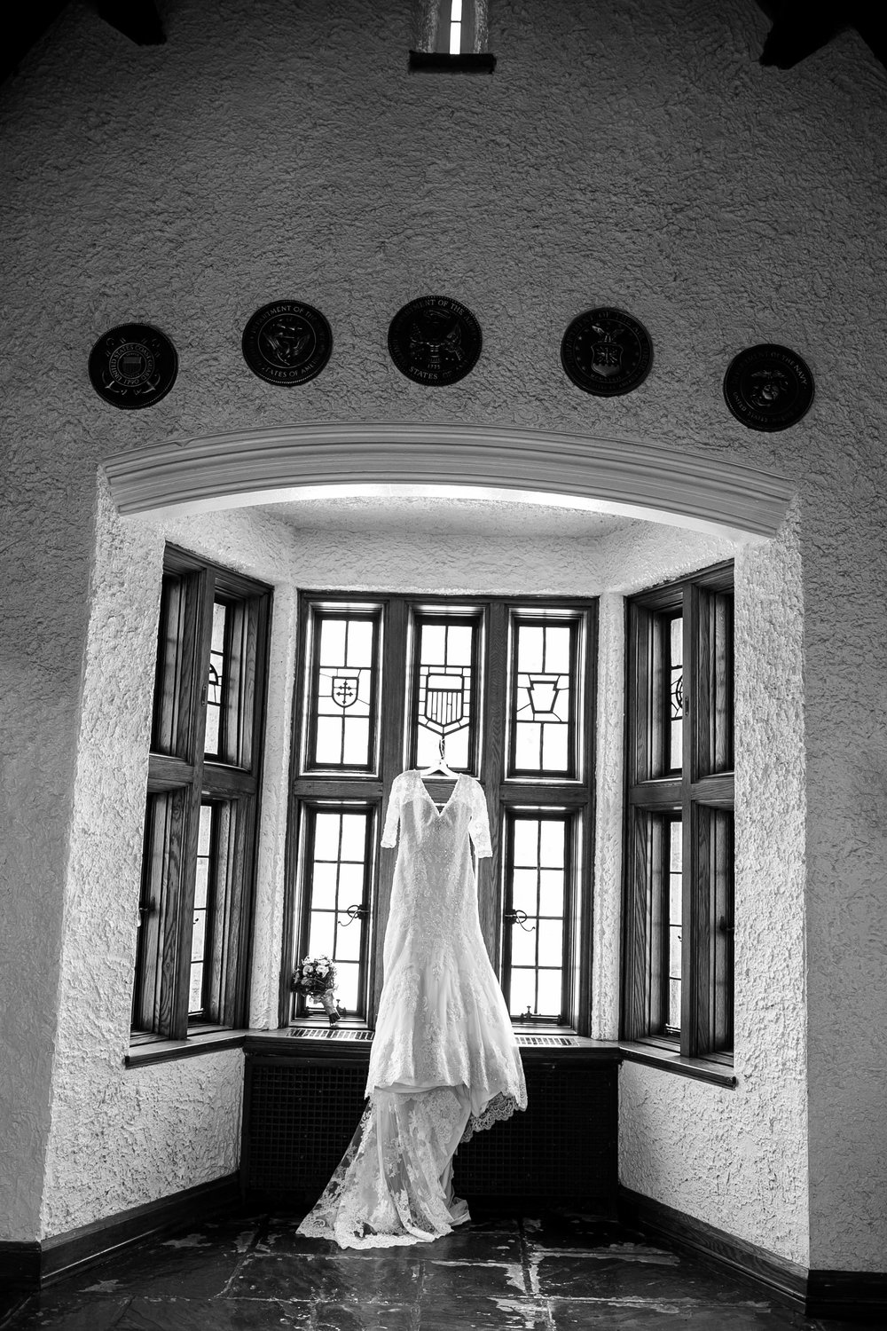 Winter Wedding at The Merion Tribute House, PA 43