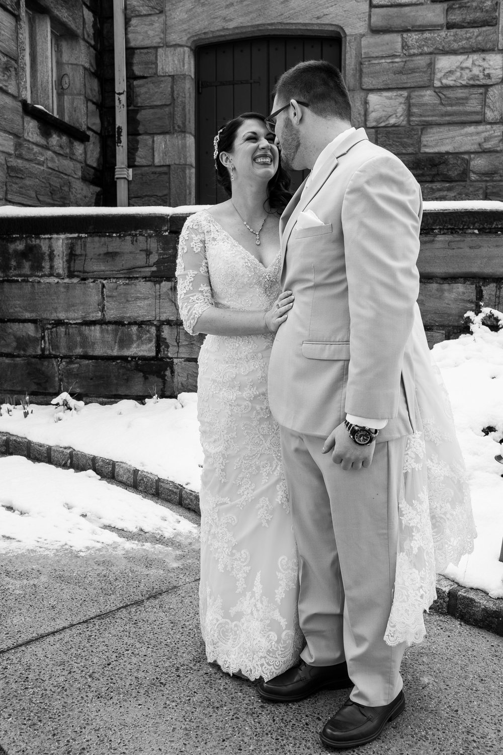 Winter Wedding at The Merion Tribute House, PA 36