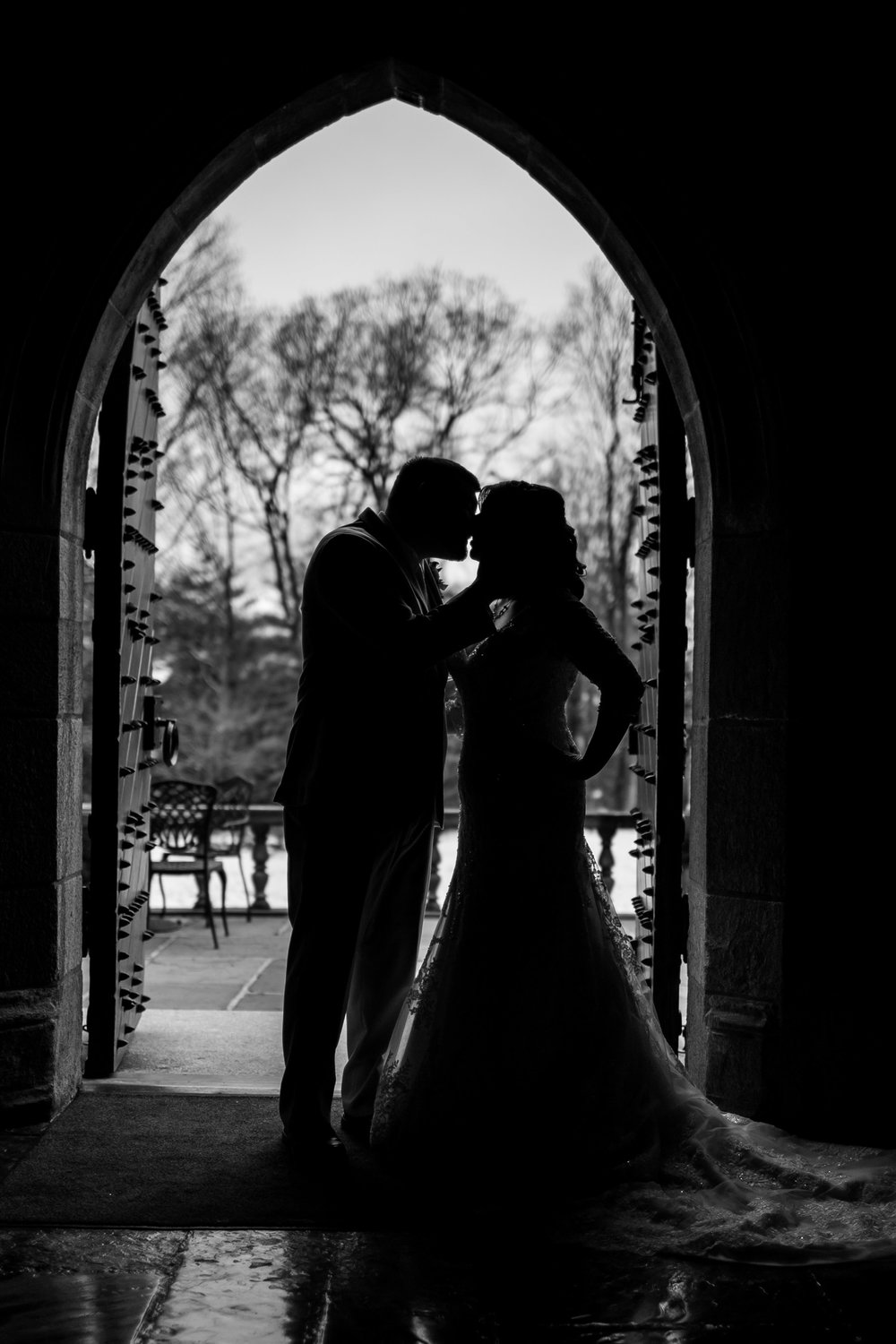 Winter Wedding at The Merion Tribute House, PA 26