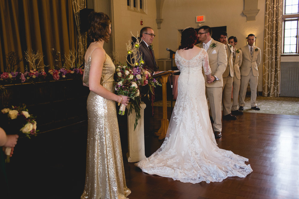 Winter Wedding at The Merion Tribute House, PA 21