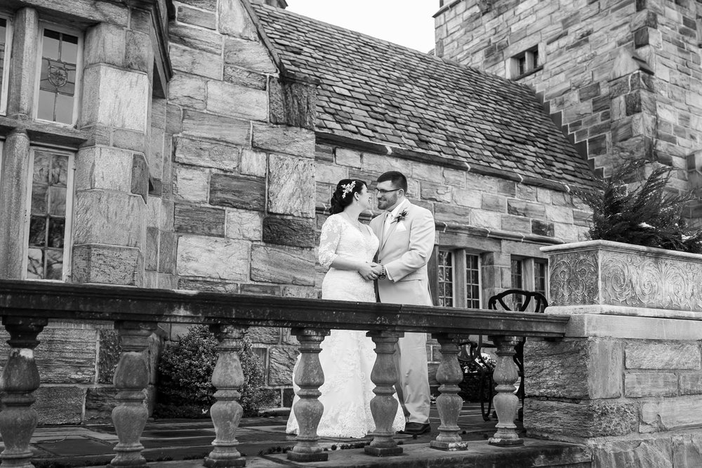 Winter Wedding at The Merion Tribute House, PA 14