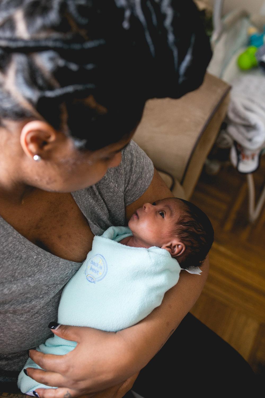 Philadelphia Newborn Session In Home