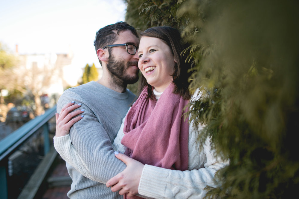 Newtown PA Winter Engagement Session 7
