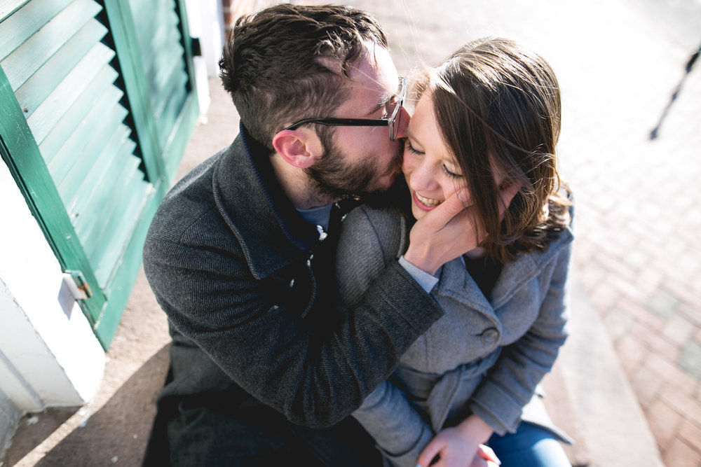 Newtown PA Winter Engagement Session 3