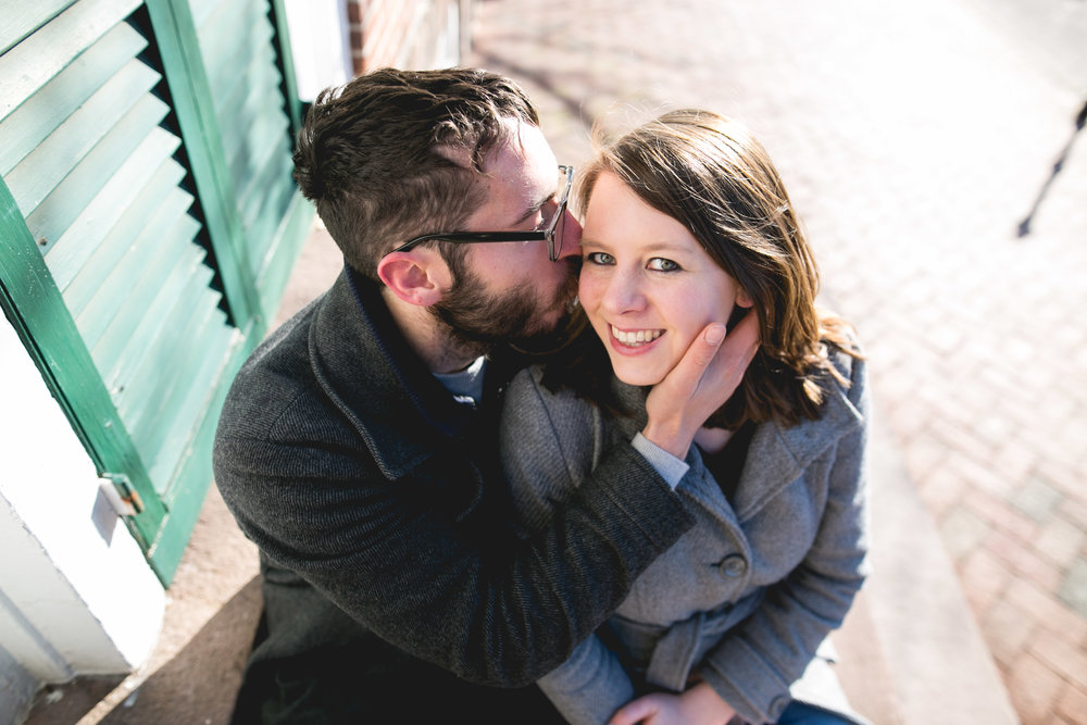 Newtown PA Winter Engagement Session 5