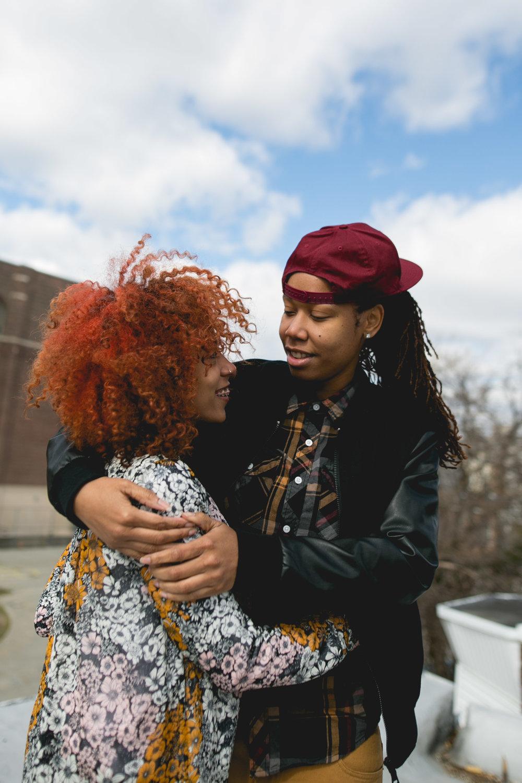 Philadelphia LGBTQ WOC Rooftop Shoot 10