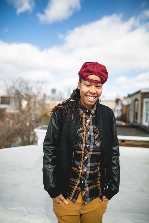Philadelphia LGBTQ WOC Rooftop Shoot