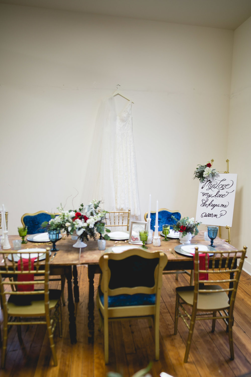 Patriotic LGBTQ Winter Styled Wedding 5