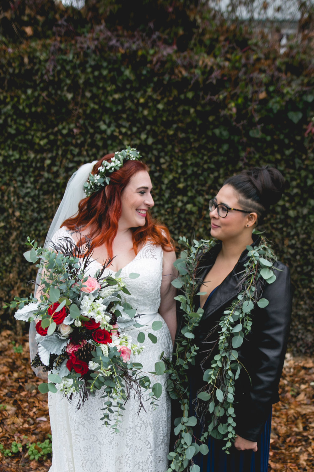 Queer Wedding Philadelphia Elopement by the lesbian photographer 19