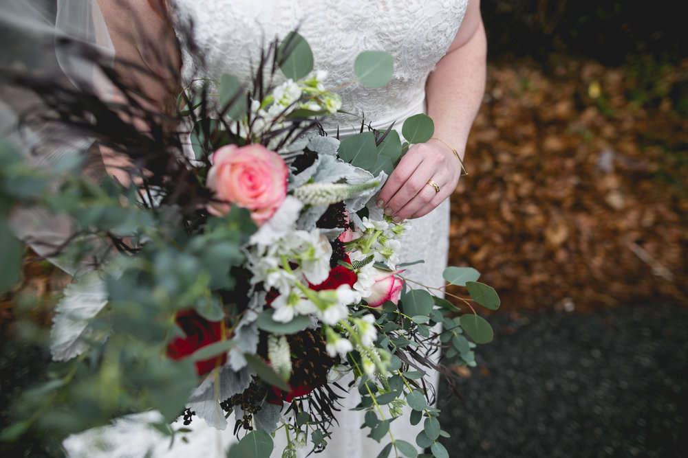 Patriotic LGBTQ Winter Styled Wedding 20
