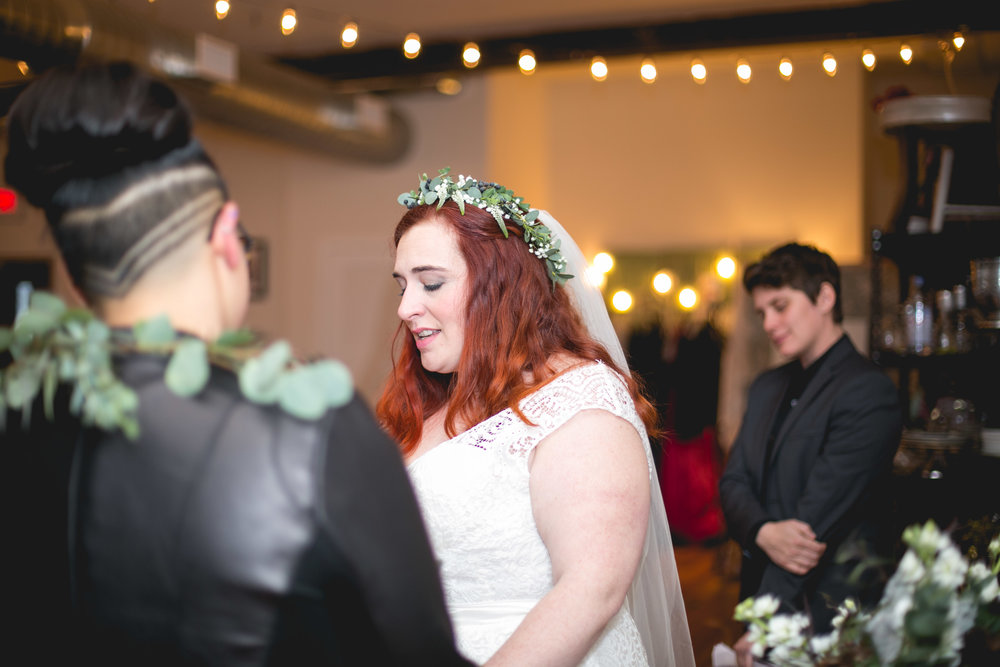 Patriotic LGBTQ Winter Styled Wedding 36