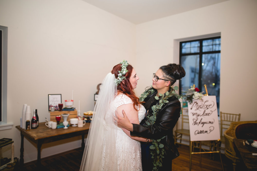 Queer Wedding Philadelphia Elopement by the lesbian photographer 37