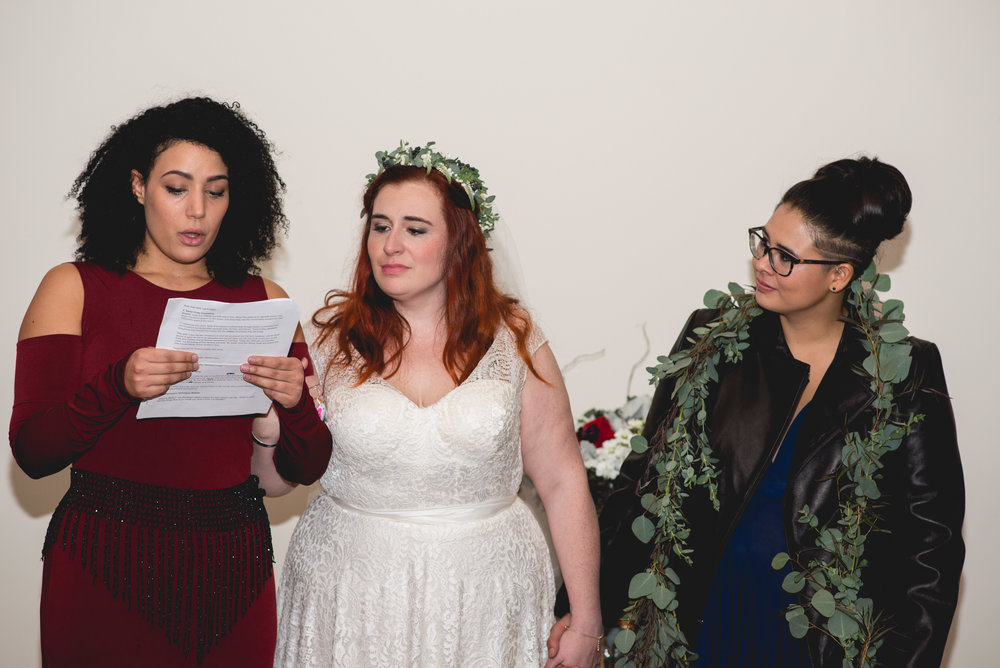 Patriotic LGBTQ Winter Styled Wedding 44