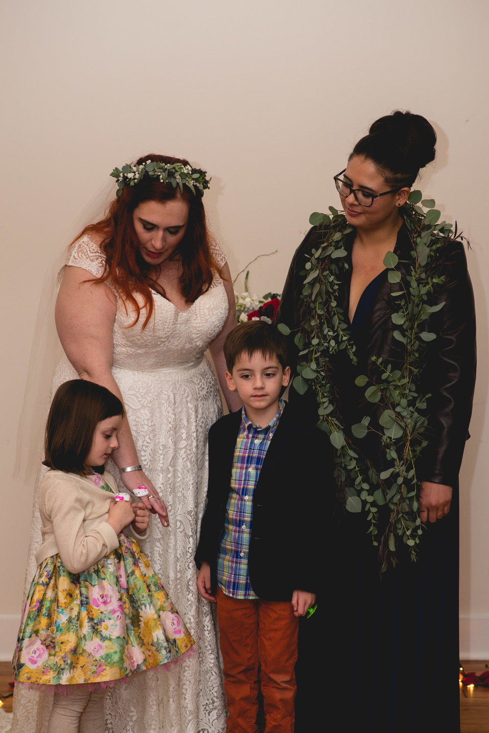 Patriotic LGBTQ Winter Styled Wedding 50