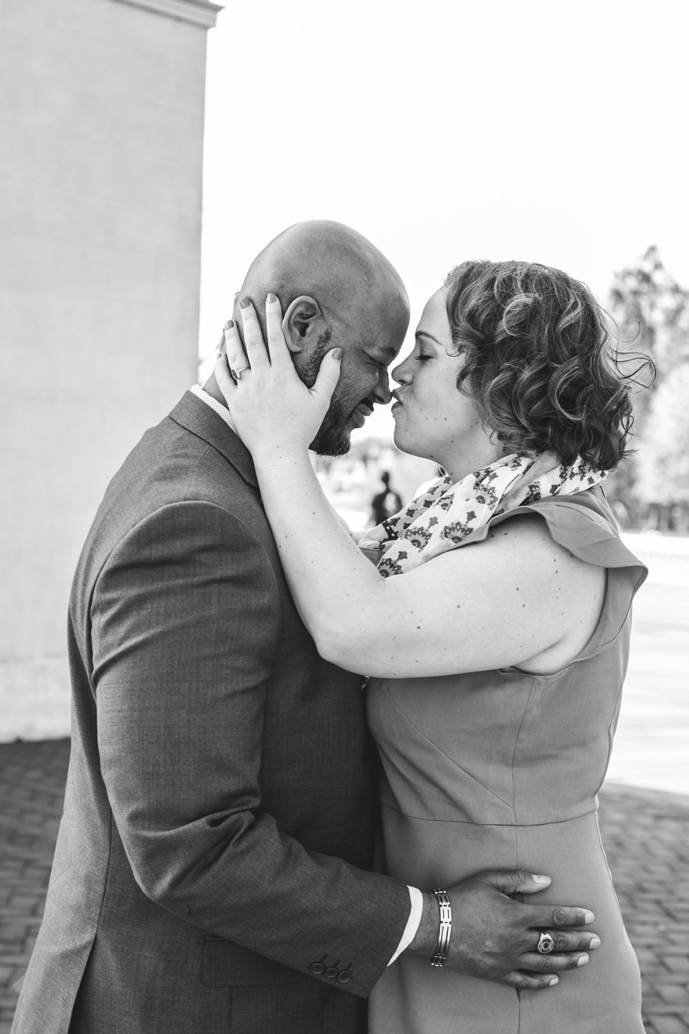 Philadelphia Spring Interacial Vibrant Engagement Shoot 8