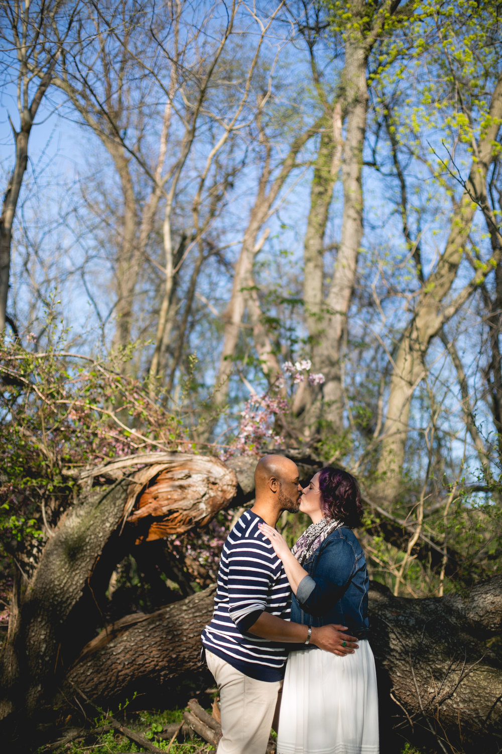 Philadelphia Spring Interacial Vibrant Engagement Shoot 5
