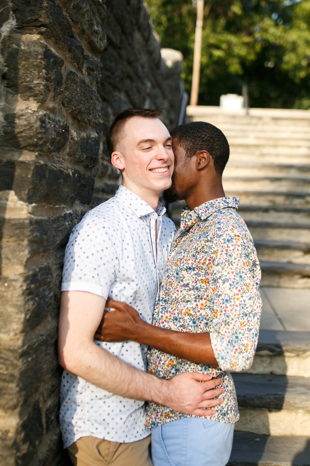 Queer Love Portrait Session Manayunk Philadelphia 2
