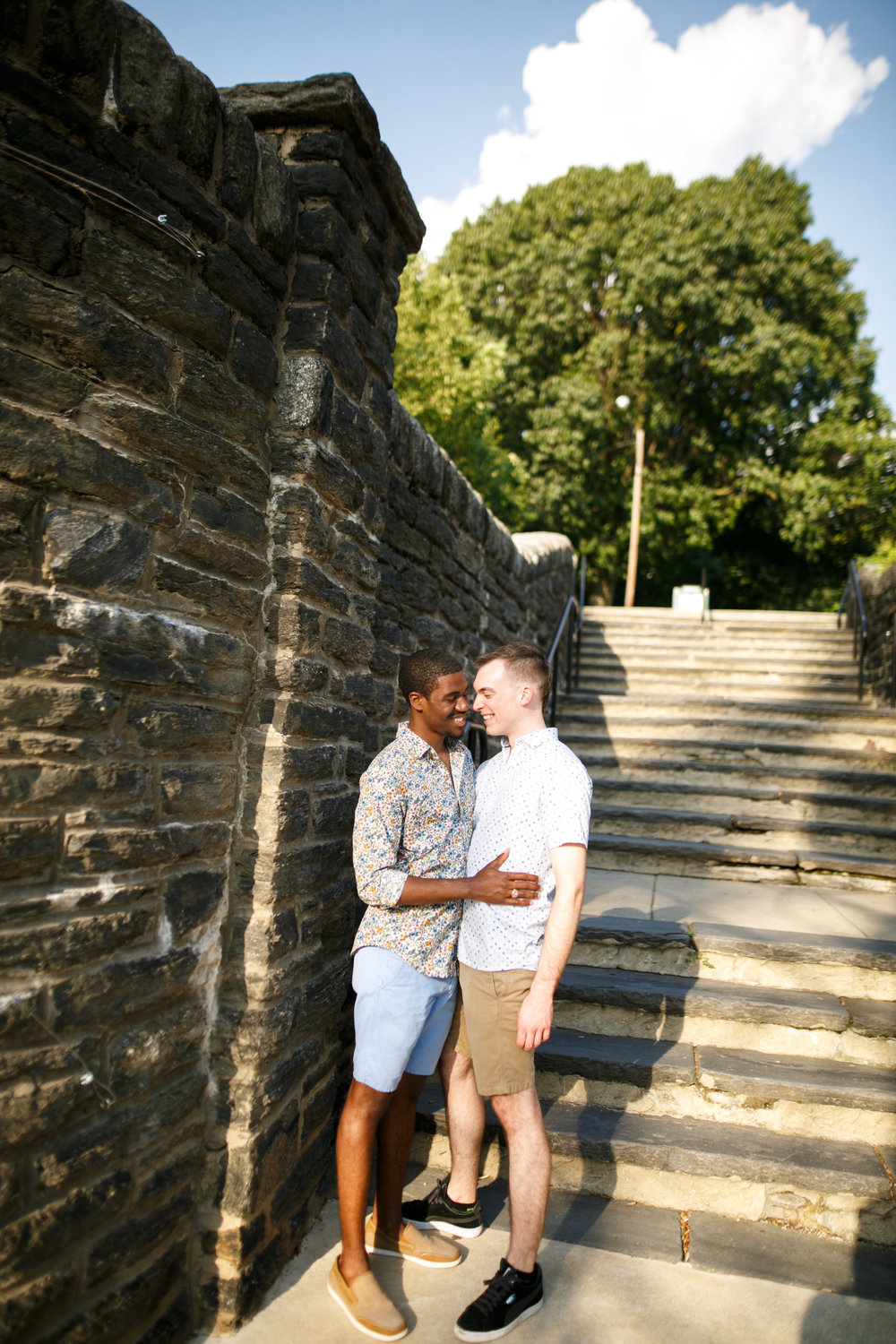 Queer Love Portrait Session Manayunk Philadelphia 4