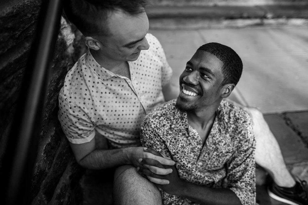 Queer Love Portrait Session Manayunk Philadelphia 5