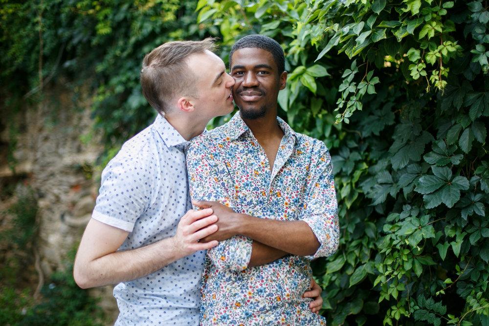 Queer Love Portrait Session Manayunk Philadelphia 9