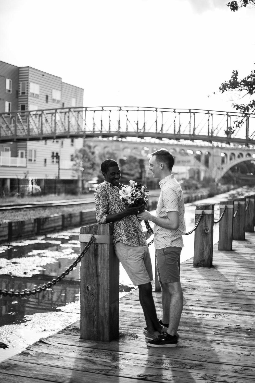 Queer Love Portrait Session Manayunk Philadelphia 10