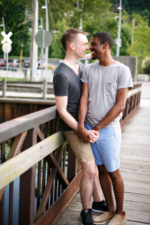 Queer Love Portrait Session Manayunk Philadelphia 14