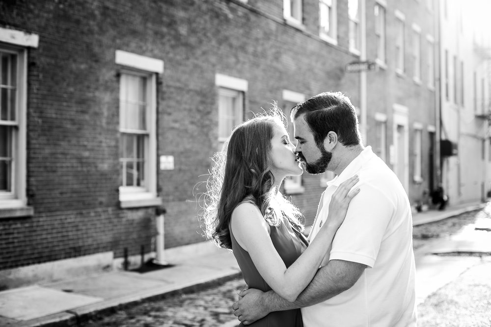 Old City Philadelphia Engagement Session 6
