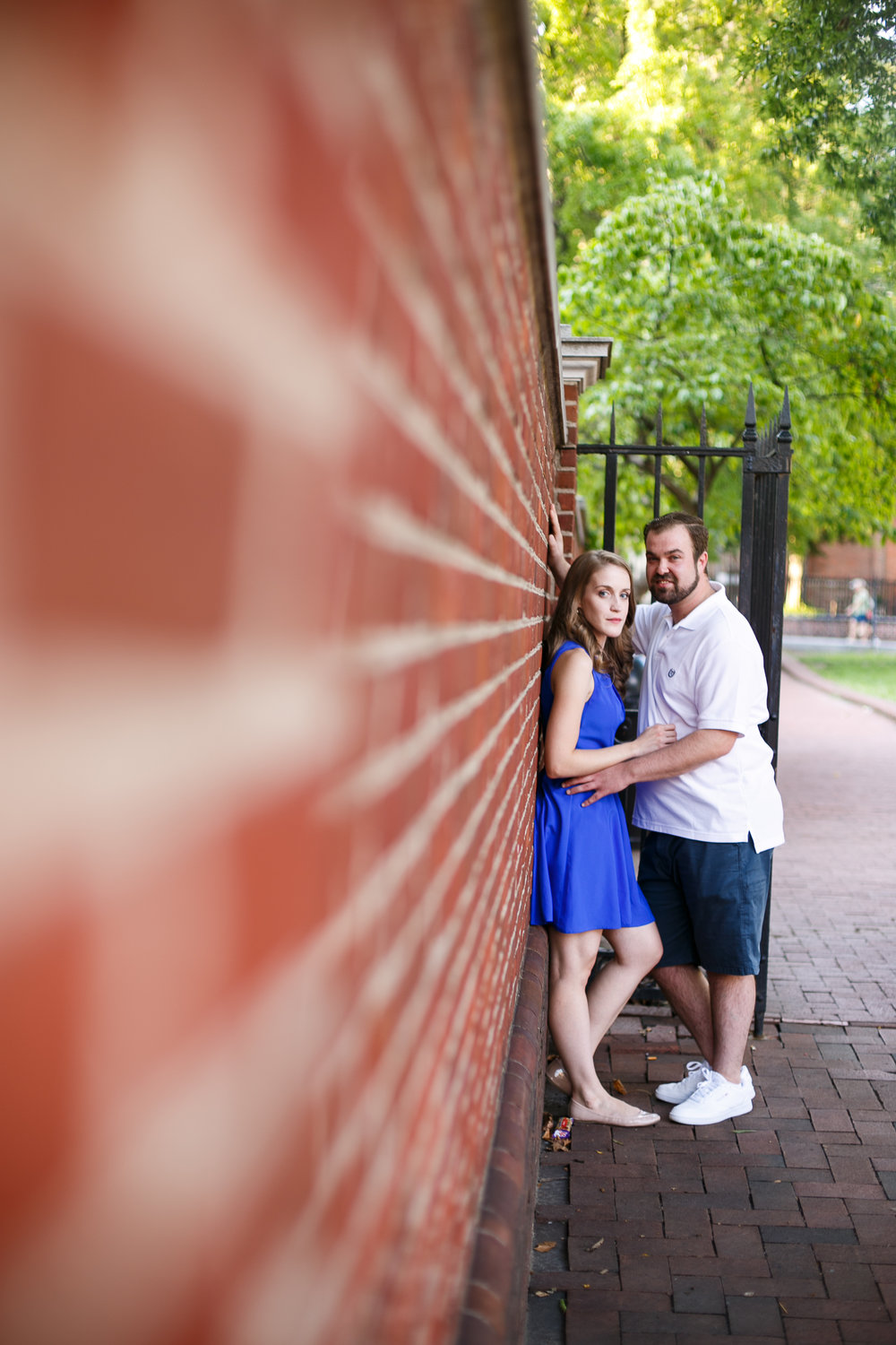 Old City Philadelphia Engagement Session 4