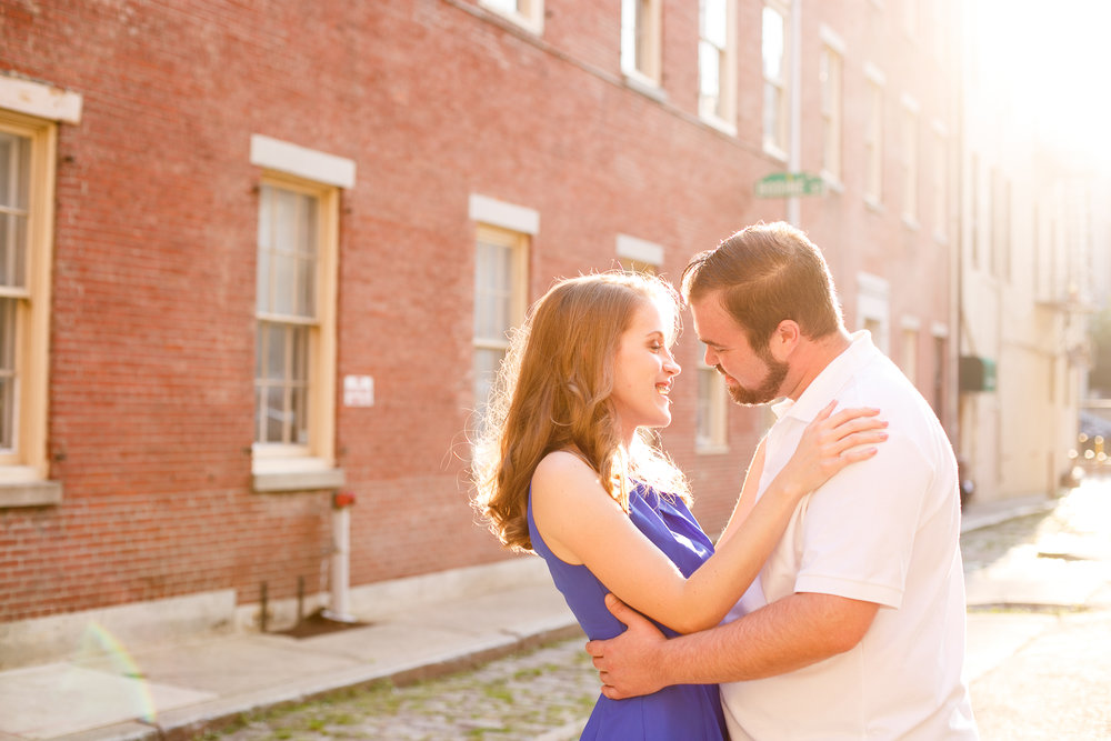 Old City Philadelphia Engagement Session 7