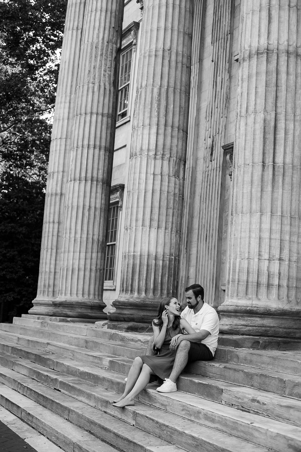 Old City Philadelphia Engagement Session 8