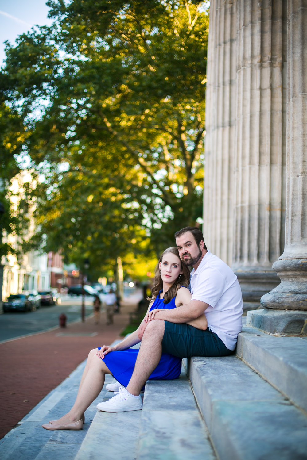 Old City Philadelphia Engagement Session 9