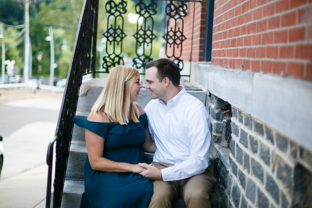 Manayunk Philadelphia Main Street Engagement Session