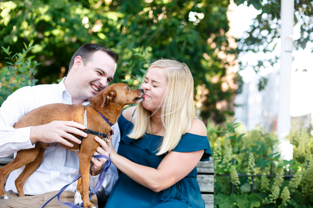 Manayunk Philadelphia Canal Summer Engagement Session 3